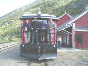 <b>Train From Lake Bennett, B.C. To Skagway, Alaska</b>