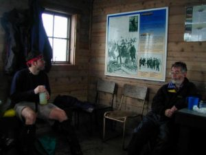 <b>The Warming Hut At The U.S./Canadian Border</b>
