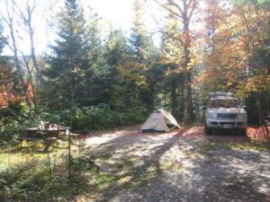 <b>Nesowadnehunk Campground, Site #16</b>