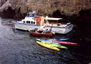 <b>Boat Ferry From Ventura, CA</b><br> We took this ferry from Ventura, California to Anacapa Island.