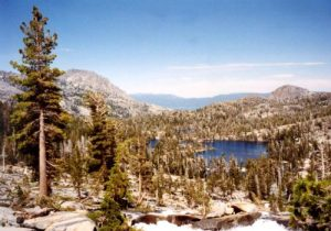 <b>View Of Upper Velma Lake From The PCT</b>