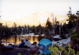 <b>Our Campsite At Upper Velma Lake</b>