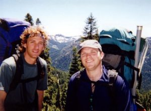 <b>Hiking The Pacific Crest Trail</b><br> Makie and The Joker hiking the PCT to Siphon Lake.