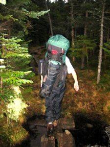 <b>Hiking The A.T. To Kinsman Pond</b>