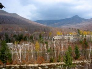<b>The White Mountains From Lincoln</b>
