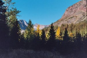 Glacier NP, St. Mary to Two Medicine - September 27, 2003