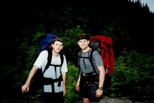 A.T. - Kinsmans Notch to Lafayette Campground - July 4, 1996