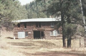 <b>Bunkhouse and chow hall</b><br> Part of the support structure for the mines in the Parsons area.
