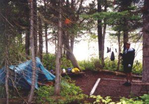 <b>Our Campsite At Bradley Lake</b>