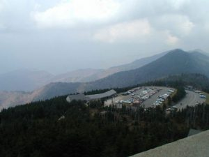 <b>View From The Mount Mitchell Firetower</b>