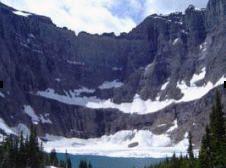 Iceberg Lake Trail; Glacier Nat'l Park
