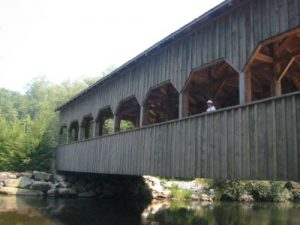 <b>High Falls Covered Bridge</b><br> Here's the covered bridge at the top of High Falls.