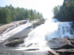 <b>High Falls</b><br> Here's a view from the base of High Falls