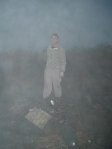 <b>This Looks Like A Nasty Storm. Why Am I Smiling?</b><br> ... because I'm about to start a warm fire!