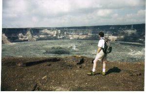 Kilauea Caldera – Hawaii Volcanoes National Park