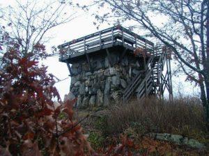 <b>The Firetower At Rabun Bald</b>