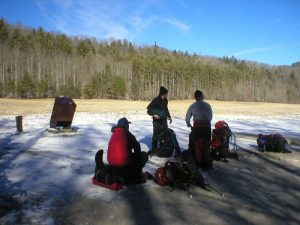 <b>Catahoochee Valley</b><br> Back at the Rough Fork Trailhead and waiting on the shuttle vehicle.