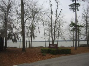 <b>Lake Marion</b><br> The lake at Santee State Park, not far from Otto's Bunker.