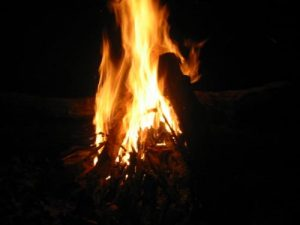 <b>Cool Night, Warm Fire</b>