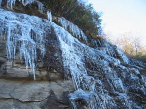 <b>Ice Along The Richard Russell Scenic Highway</b>
