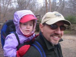 <b>Lauren and Steve</b><br> Lauren just finished checking out some goats and we are headed toward Lake Haigler.