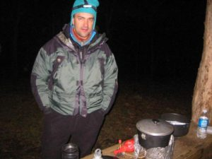 <b>Chef Boy-A-Joe</b><br> DeLisle did the cooking tonight and got it done before the snow came down sometime after 10pm.
