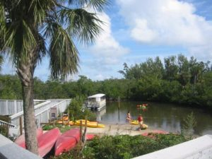 <b>Kayaker's Near The Nature Center</b><br> Anne Kolb Natuer Center has canoe and kayak trails and rentals available for a nominal fee.