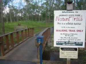 Bernice State Park - Nature Trail - April 25, 2007