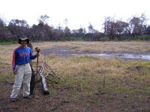 Juniper Prairie Wilderness - me and my daughter Julia