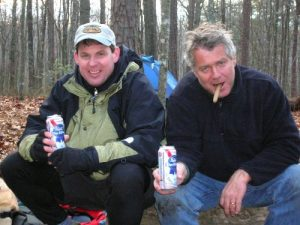 <b>PB - AH</b><br> Black Crowe hooked us up with a PBR once we set-up camp. You had to drink fast. It slushed up almost immediately due to the cold weather.