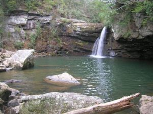 <b>Savage Falls</b><br> It's a beautiful place with steep cliffs to the left and right as you view the falls ahead.