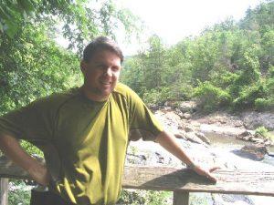 <b>Platform At Sweetwater Falls</b><br> BirdShooter at Sweetwater Creek Falls.