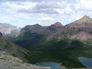 <b>Pitamakan Pass</b><br> Heh, look at those two lakes! Thanks mister obvious.