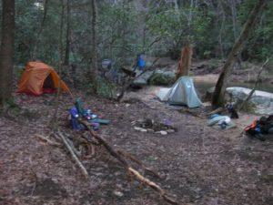 <b>Our River Campsite</b>