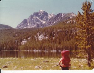 <b>Warren Peak and Carpp Lake</b><br> From Hi-Line Trail.