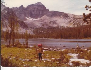 <b>Warren Lake</b><br> From Continental Divide National Scenic Trail.