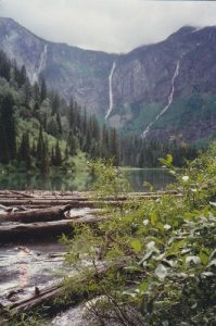 <b>Avalanche Lake</b><br> Viewed from the Avalanche Lake Trail