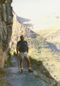 Glacier National Park - Highline Trail - August 9, 1990