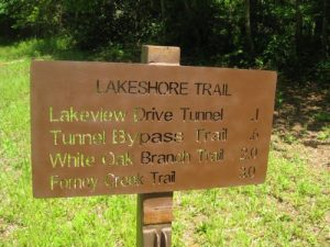 <b>Sign At The Trailhead</b><br> This is the first time I've seen a see-through trail sign.