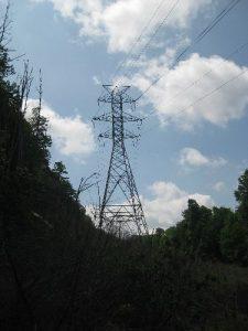 <b>Powerline Over Trail 448</b>