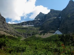 <b>Thunderbird Peak</b><br> The trail does most of its climbing up the face of this mountain.
