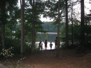 <b>Marbury Creek Watershed</b><br> Looking out to the Marbury Creek Watershed from our campsite.