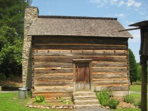 <b>Fort Yargo</b><br> The park features a log fort built in 1792 by settlers for protection against Creek and Cherokee Indians.