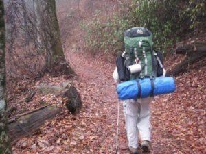 <b>Hiking Down</b>