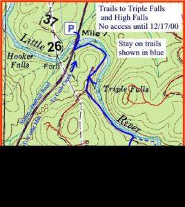 <b>The Trail To High Falls</b>