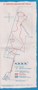 <b>Fort Barton Trail Map</b>