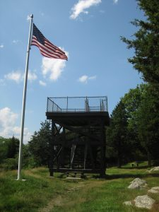 <b>The Lookout Tower</b><br> Here's the lookout tower at Ft. Barton.