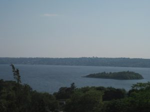 <b>The Sakonnet River</b><br> Another view from the tower.