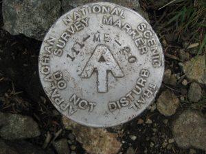 <b>A.T. Marker On The Trail</b>
