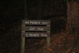 Pioneer short loop trail